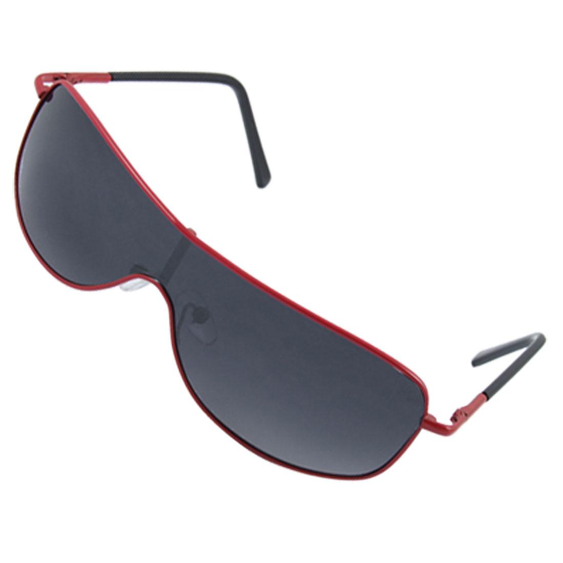 Kids Uni-lens UV Protection Red Full Rim Frame Sunglasses