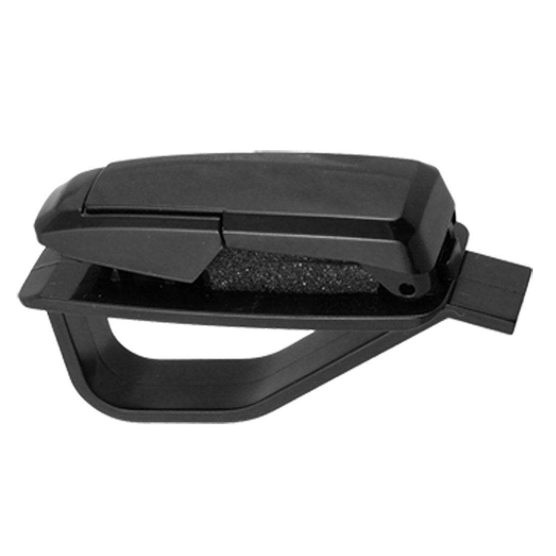 Black Plastic Car Vehicle Sunglasses Eyeglasses Clip Holder