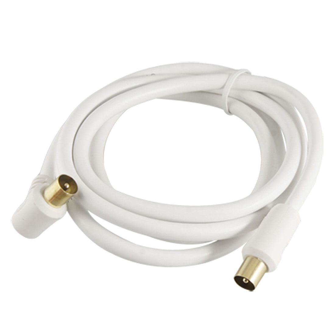 1.4M Male TV Coaxial RF Fly Lead Shielded Aerial Cable