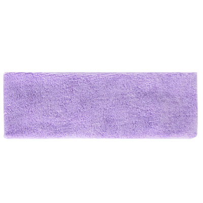 Light Purple Washable Elastic Sweatband Head Band