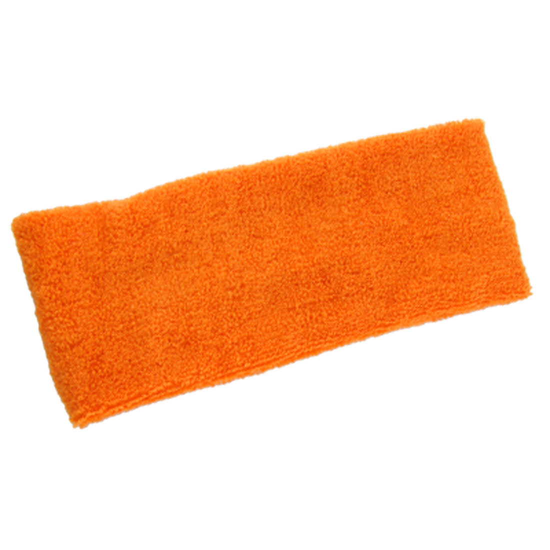 Orange Red Sports Elastic Sweatband Headband Head Band