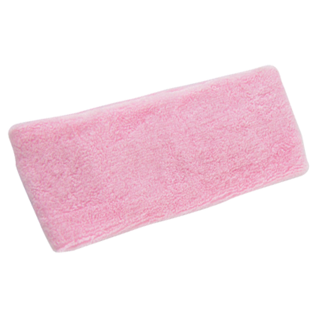 Athletic Sports Soft Elastic Sweatband Sports Head Band Pink