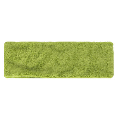 Olive Green Elastic Terry Cloth Head Band Sports Sweatband