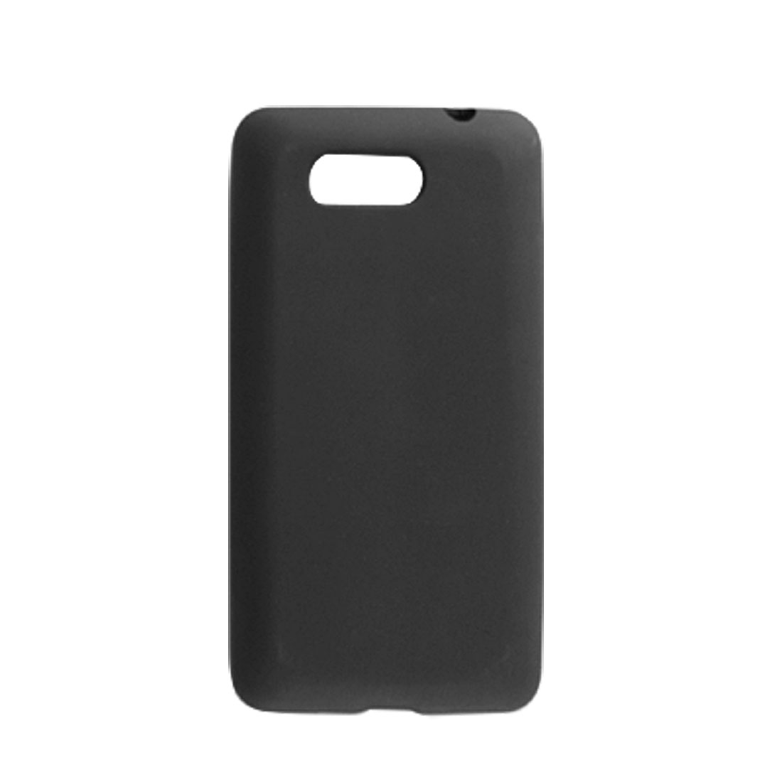 Black Soft Protective Back Case Shell for HTC HD MINI