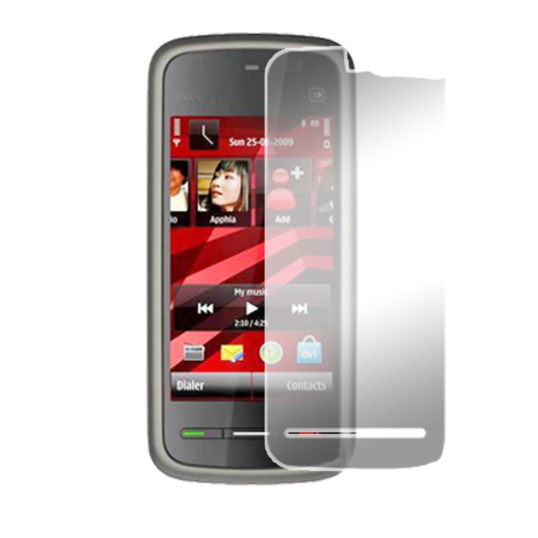 LCD Screen Shield Protector Clear Film for Nokia 5230