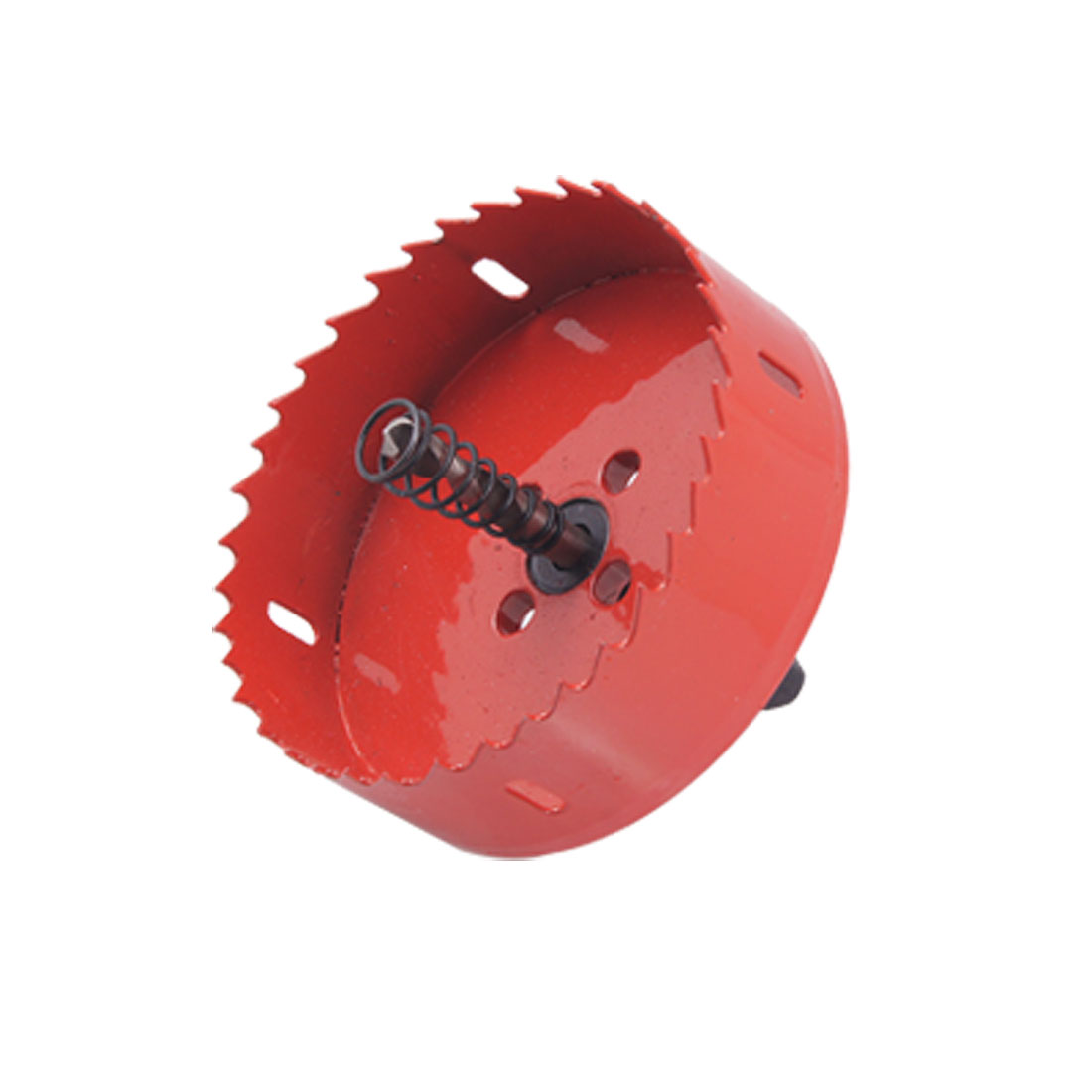 Hole Cutting Cutter Tool 90mm Diameter Bimetal Red Holesaw
