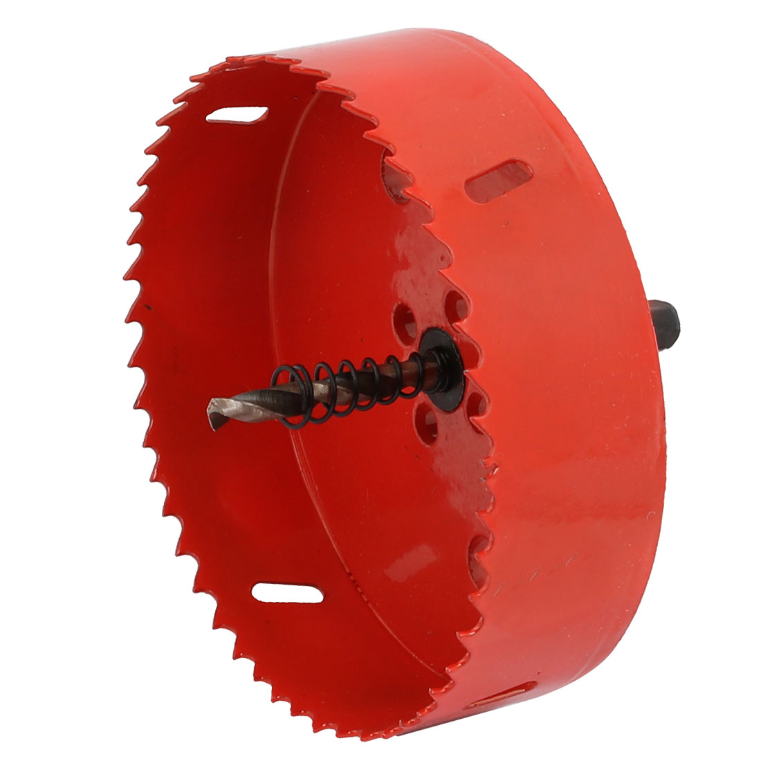 120mm Diameter Bimetal Hole Cutter Cutting Holesaw Red