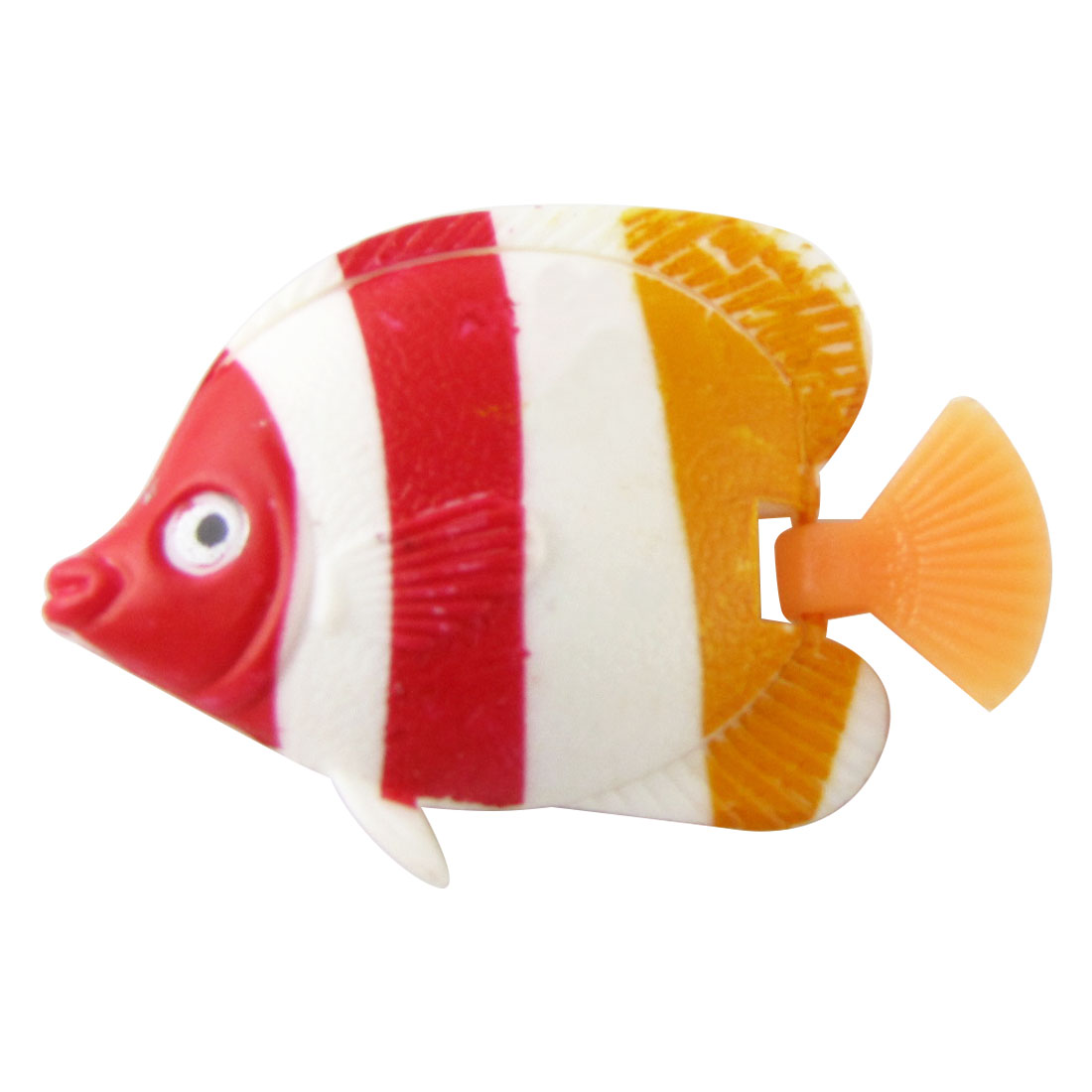 5 Pcs Realistic Colors Mini Plastic Fish Aquarium Ornament