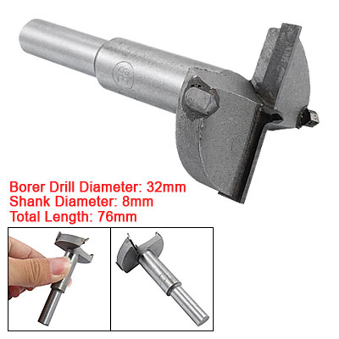 Woodworking Hinge Boring Drill Tool Wood Forstner Bit 32mm