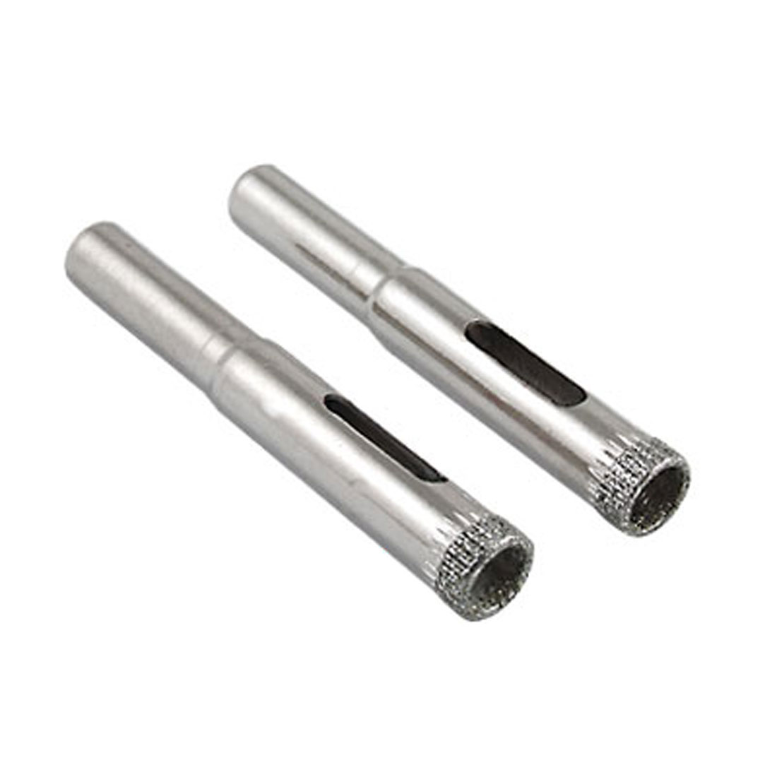 2 Pcs 8mm Diameter Glasses Tile Diamond Hole Saw Drilling Tool