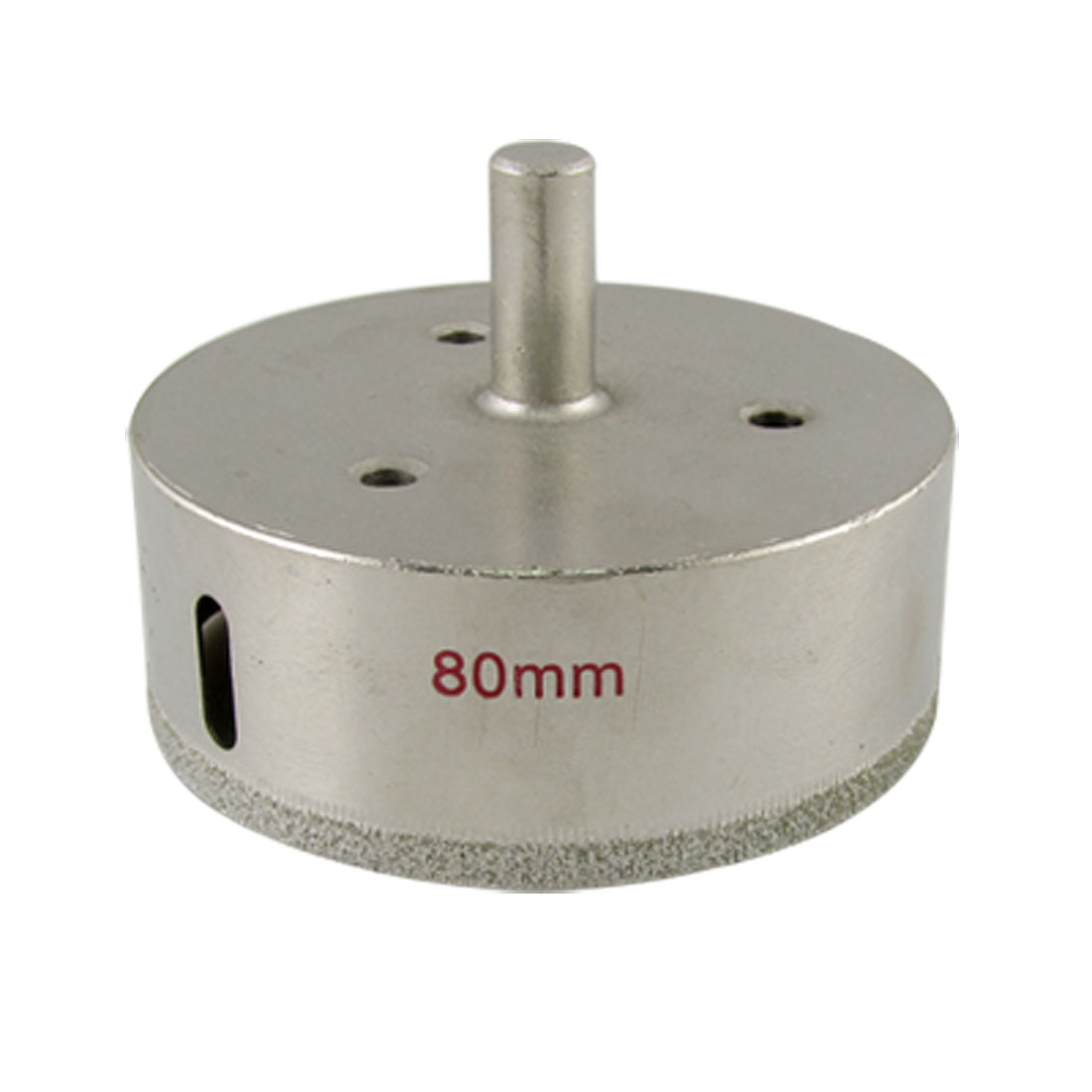 Glass 80mm Diameter Diamond Coated Hole Saw Drilling Tool