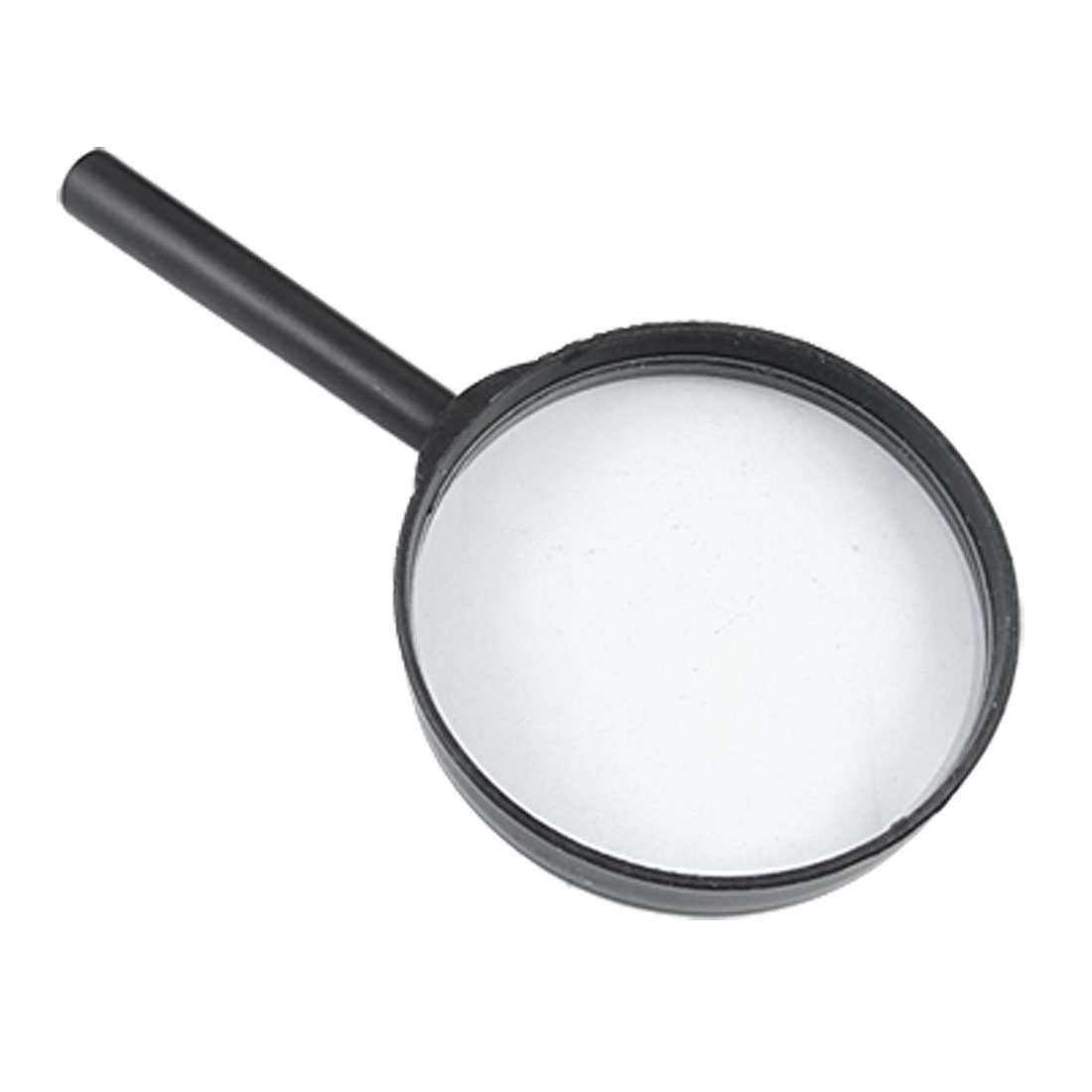 75mm Black Portable 2X Magnifying Glass Magnifier for Reading