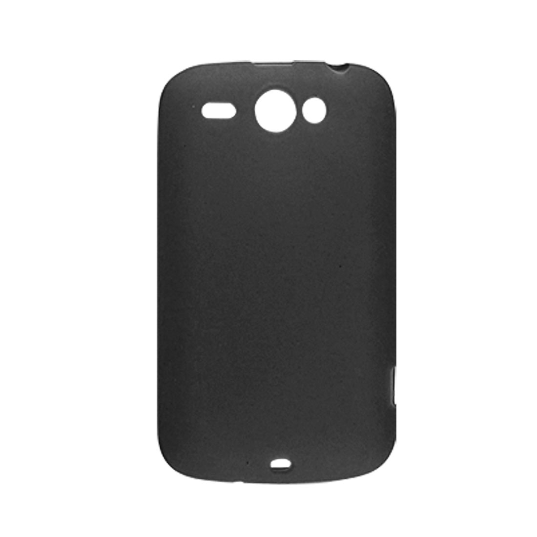 Black Soft Plastic Case for HTC Wildfire G8
