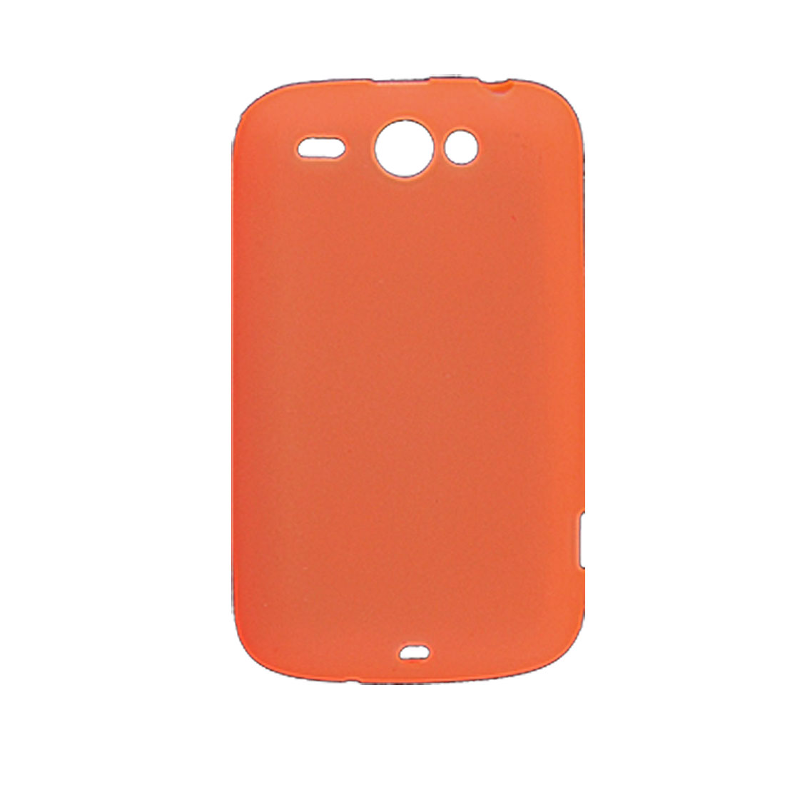Orange Red Soft Plastic Protective Case for HTC Wildfire G8