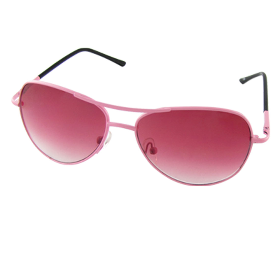 Pink Double Bridge Full Frame Sunglasses for Children