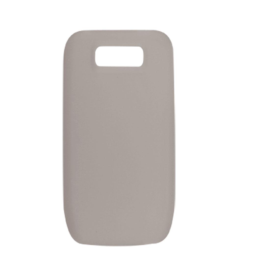 Protective Soft Plastic Skin Cover Gray for Nokia E63