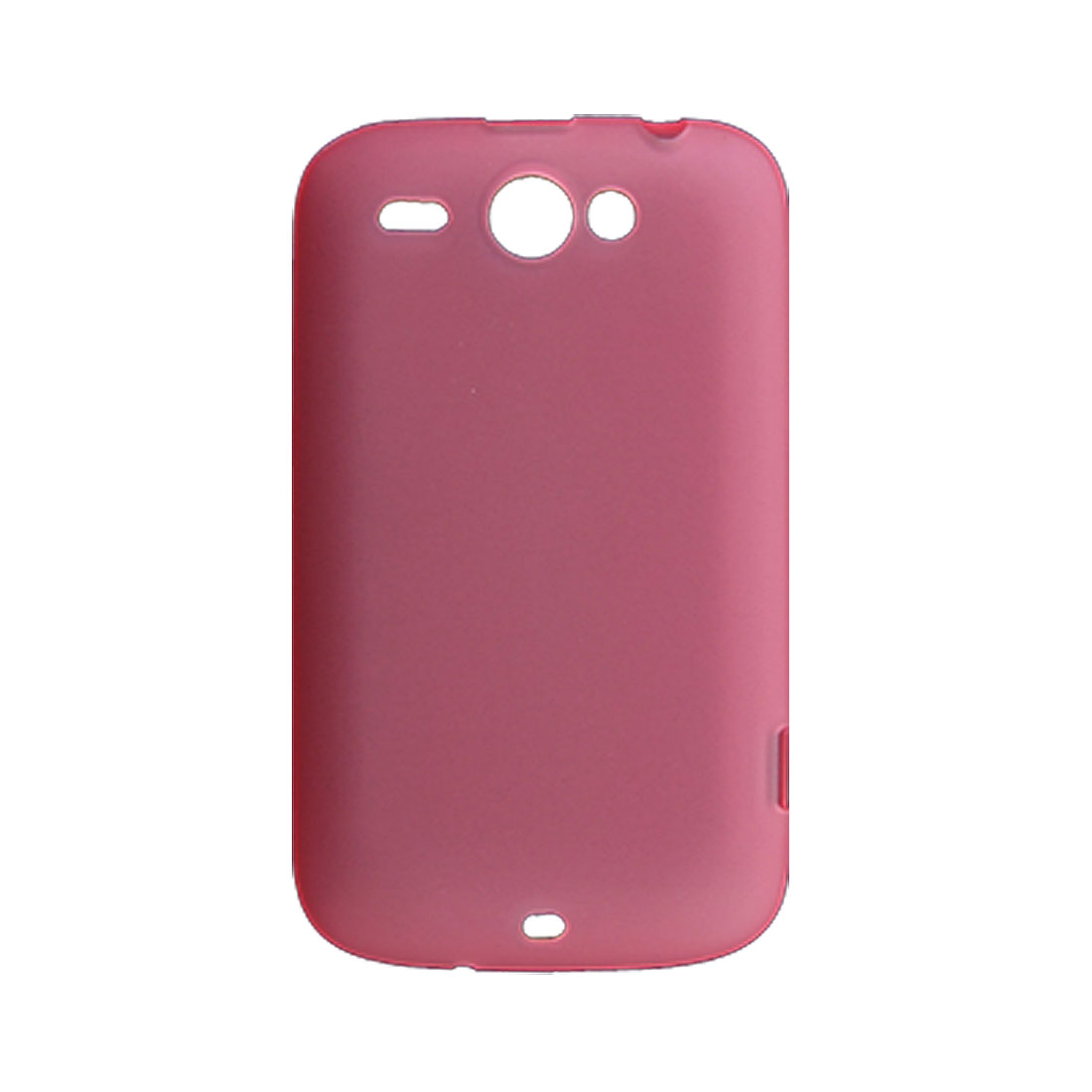 Soft Plastic Skin Protective Cover Pink for HTC Wildfire G8