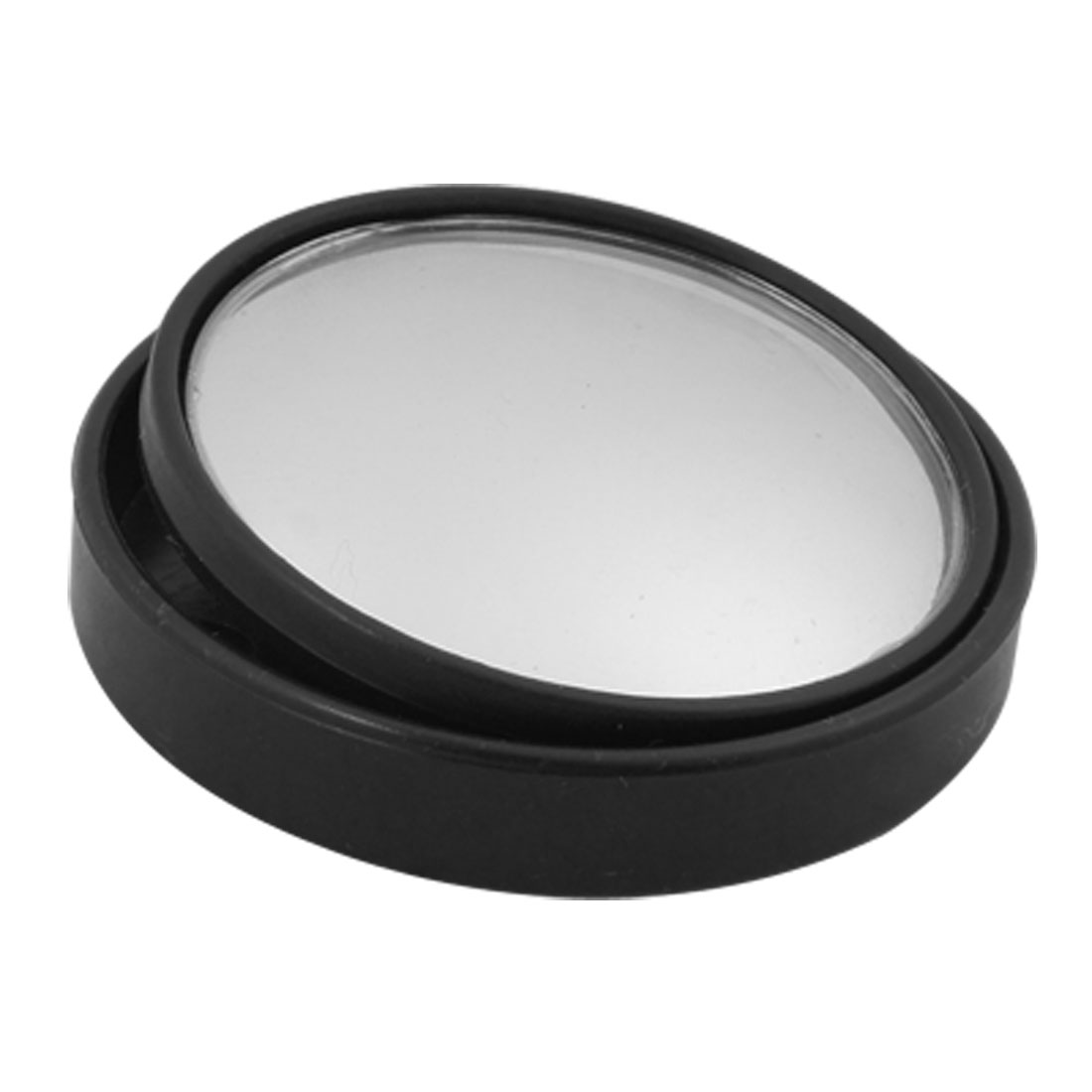 360 Degree Rotatable Black Blind Spot Safety Mirror for Car