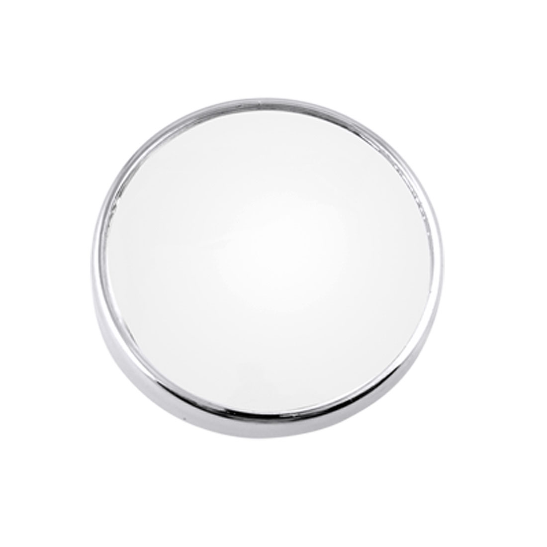 "3"" Silver Tone Car Auto Side Rearview Blind Spot Mirror"