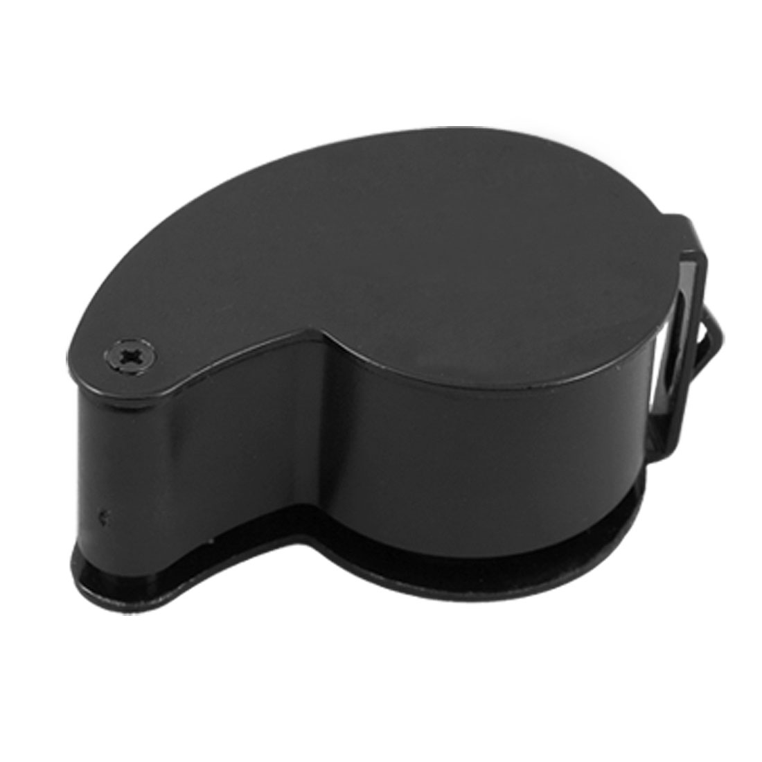 Black LED Light Whistle Shape Jewelry Manifier Loupe