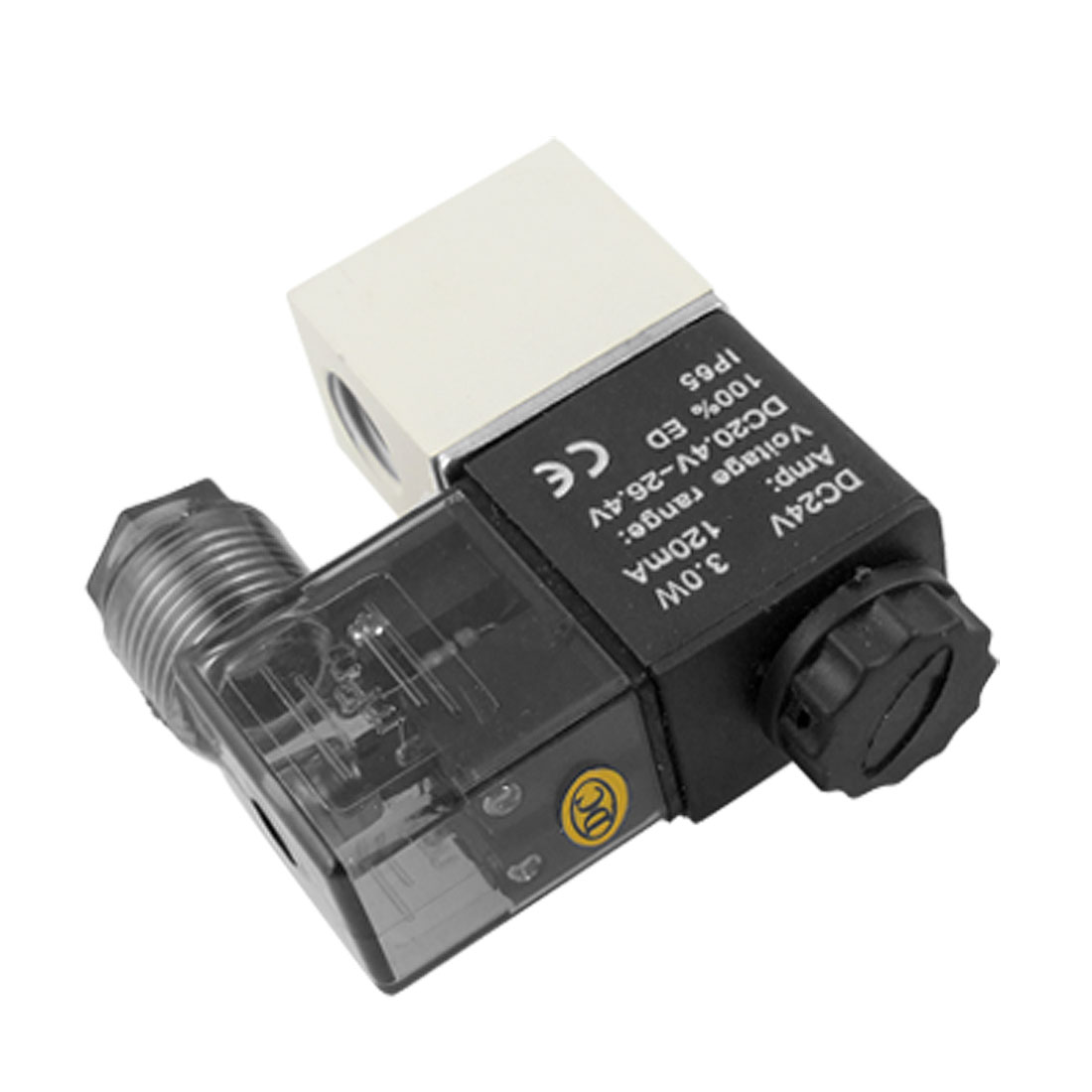 "DC 24V 1/2"" 2 Way Electric Pneumatic Air Solenoid Valve"
