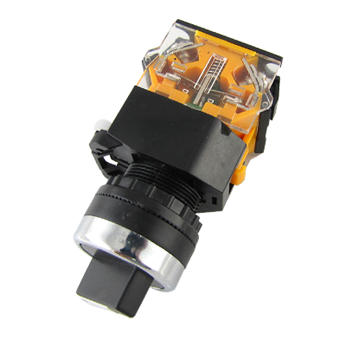 Emergency N/O Locking Turn Rotary Switch 660V 10A