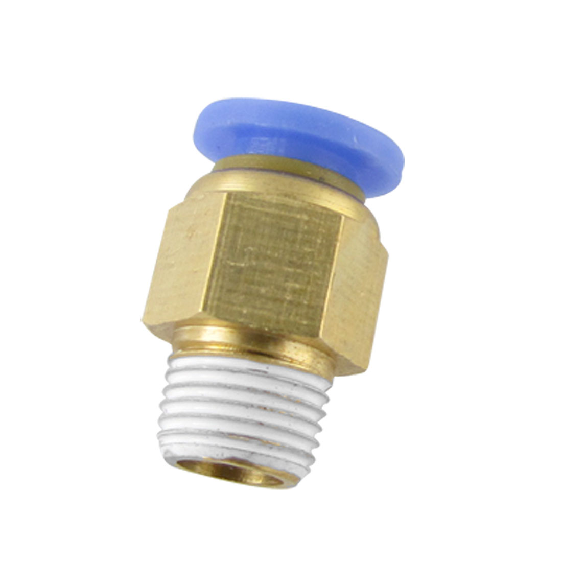 Quick Push In Male Run Pneumatic Connect Fittings 6mm