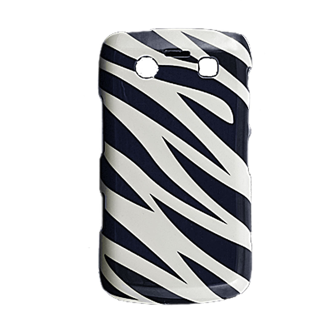 Zebra Pattern Hard Plastic Back Case Cover for Blackberry 9700 9020