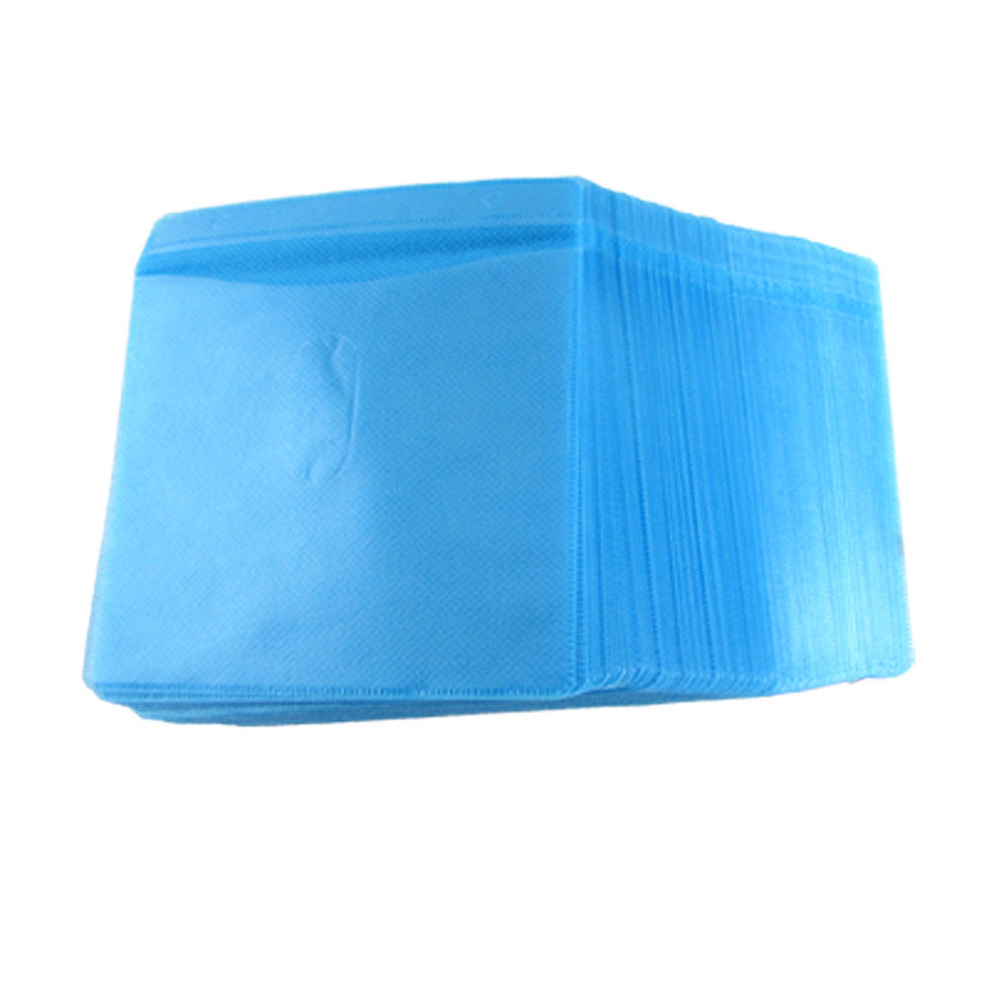 Blue Plastic 100 Pieces Home CD Compact Disc Storage Bag