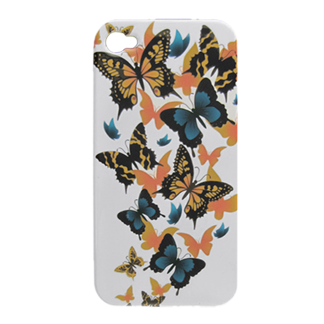 Butterflies Hard Plastic Back Cover Case for iPhone 4 4G