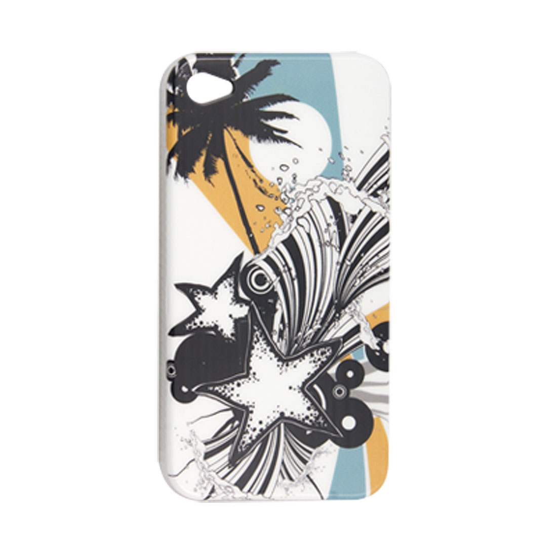Coco Tree Hard Plastic Back Cover Shell for iPhone 4 4G