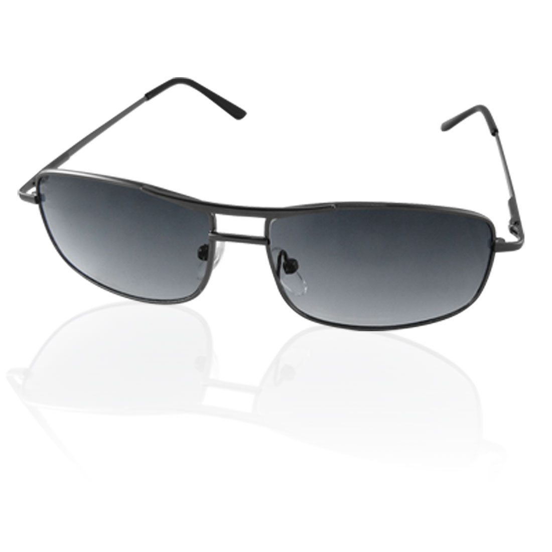 Clear Black Lens Metal Full Frames Sunglasses for Child