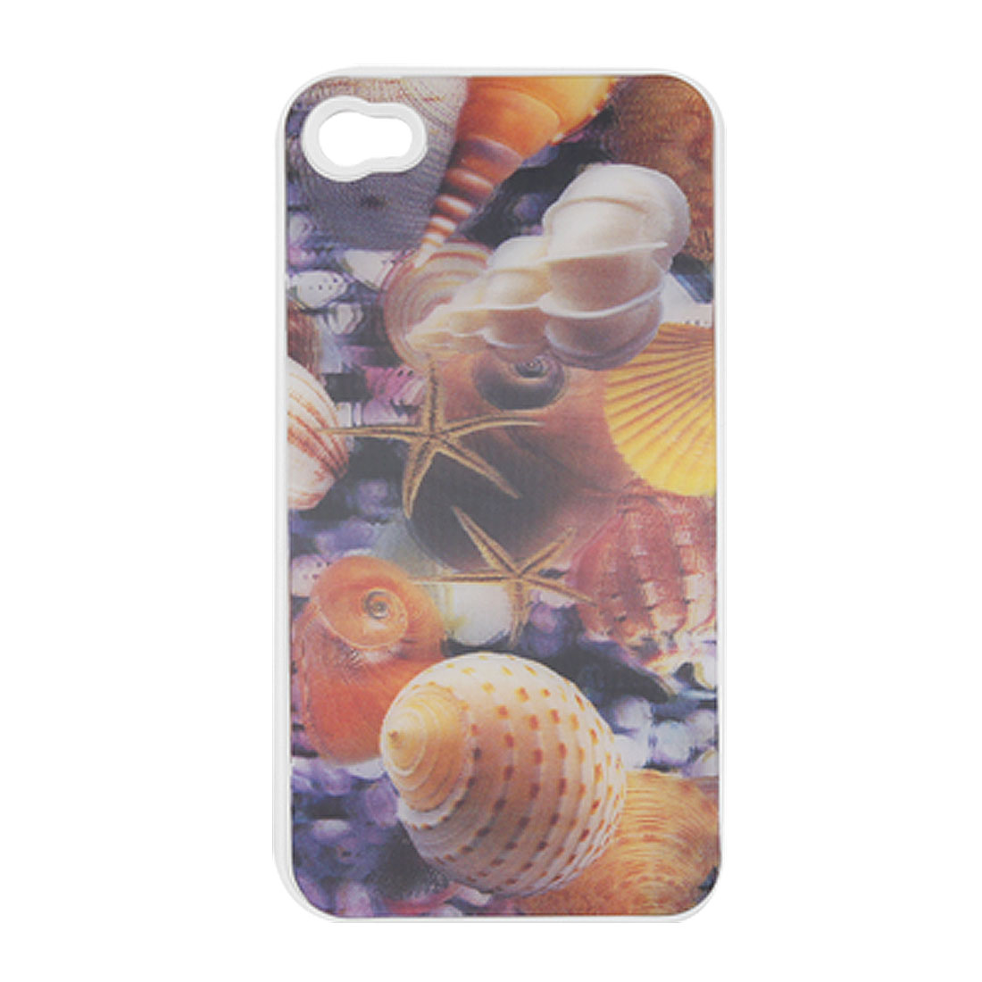 Halobios 3D Colorful Plastic Back Case for iPhone 4 4G