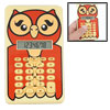 Cartoon Night Owl Design 8 Digits Calculator
