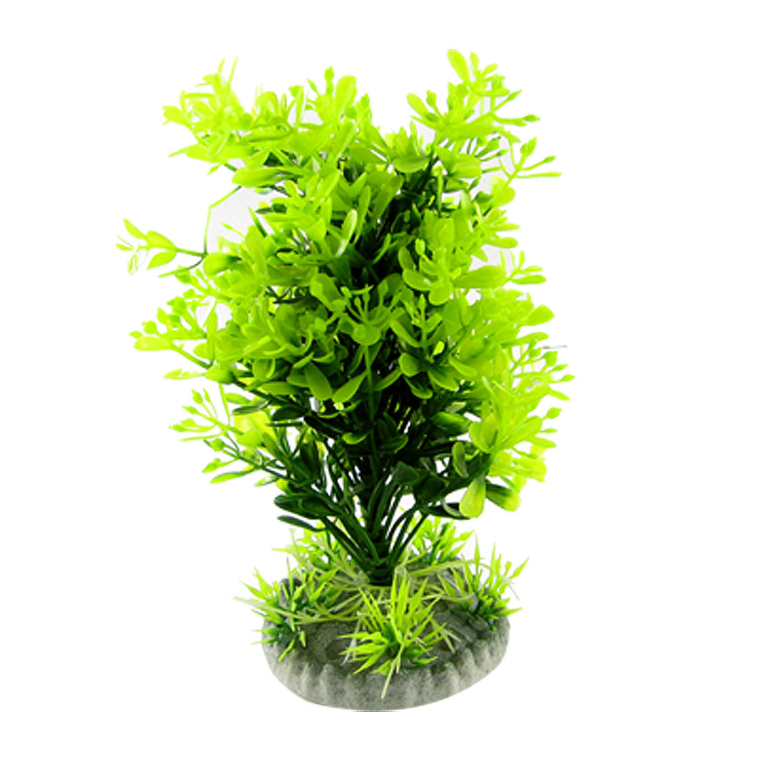 Green Artifical Plastic Plants Grass Ornaments for Aquarium Fish Tank