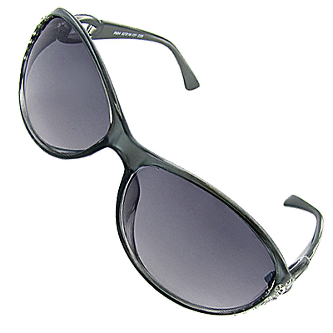 Women Ladies Fashion Rhinestone Decor Shopping Sunglasses