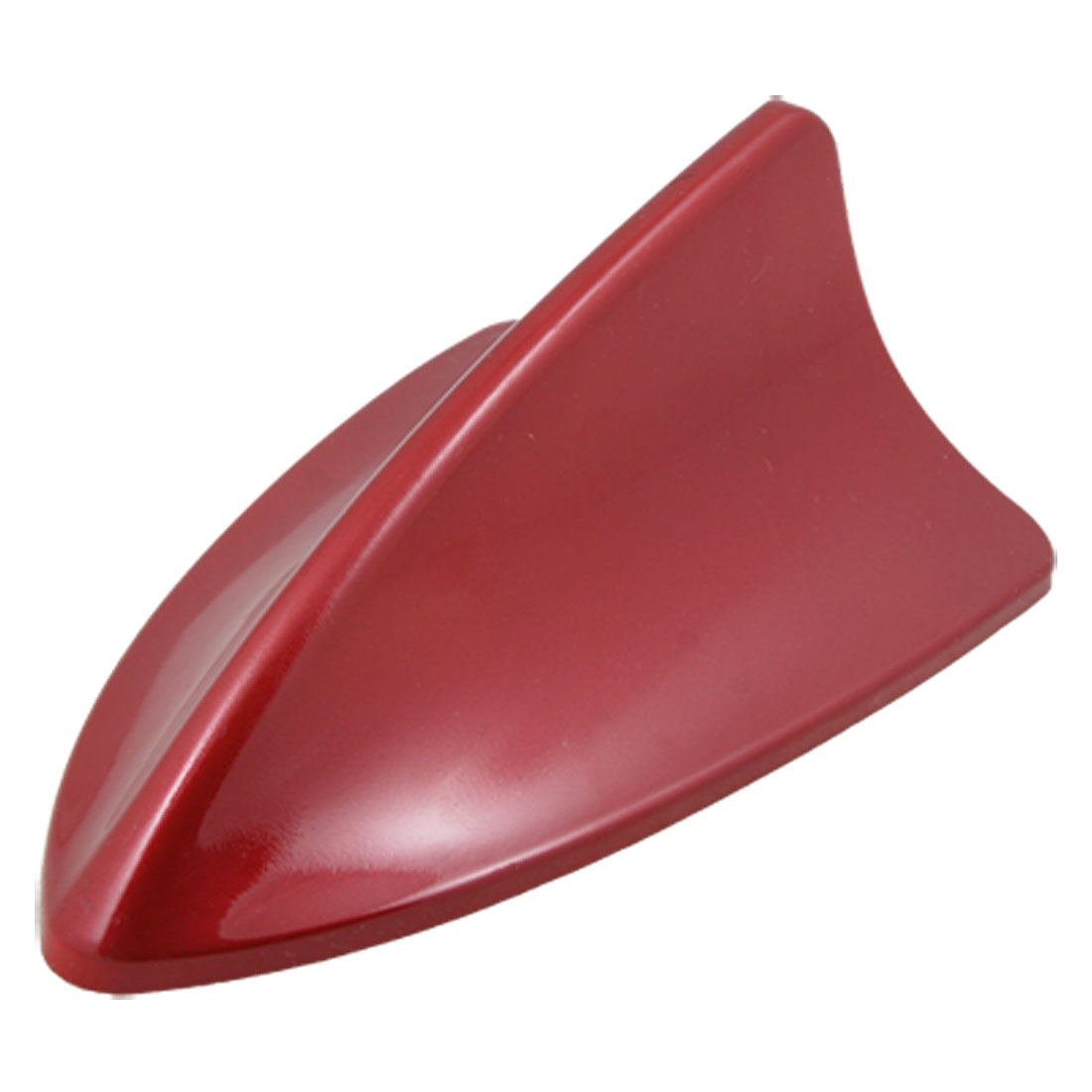 Auto Car Roof Old Red Plastic Shark Fin Shaped Ornament Antenna