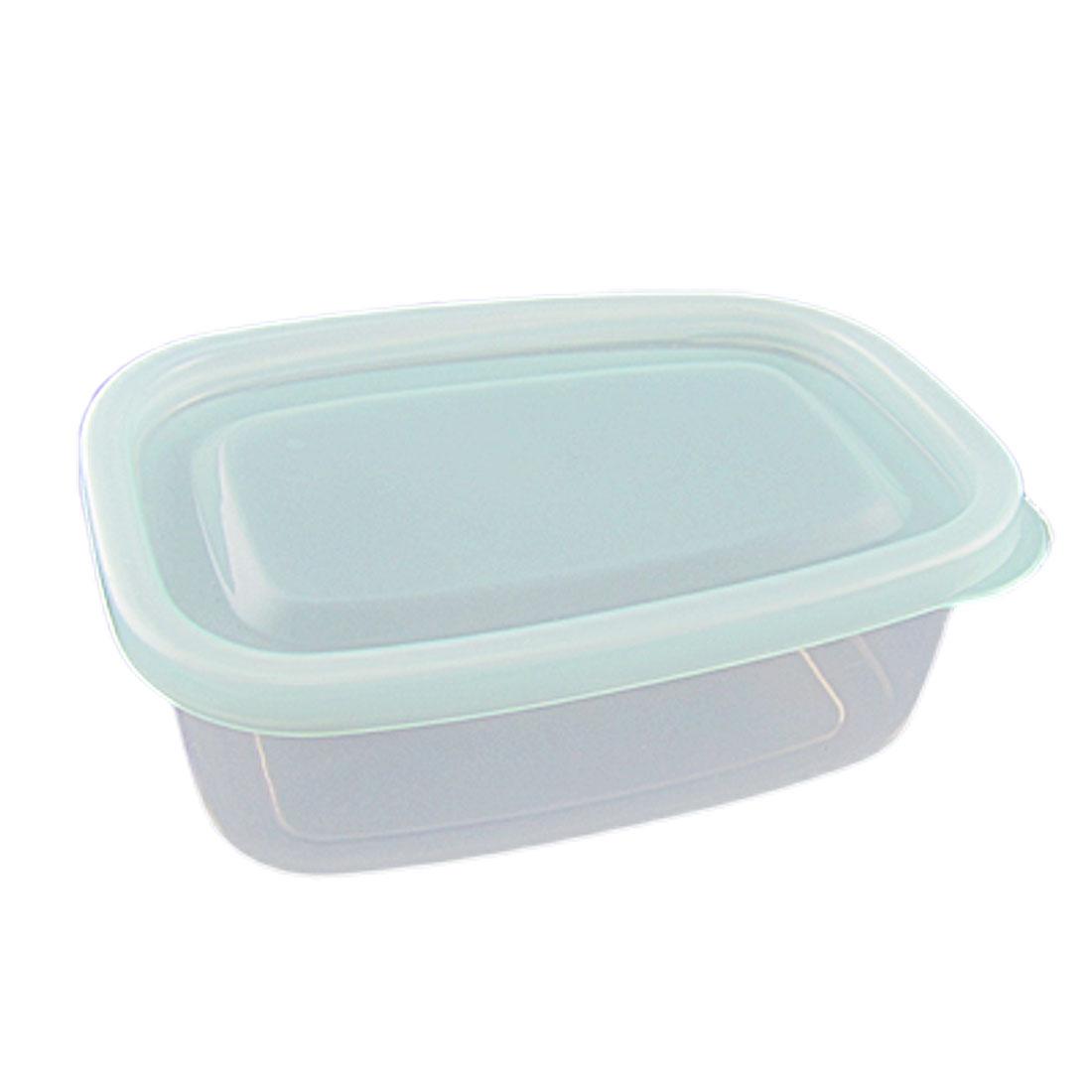 Baby Blue Lid Clear Plastic Work Bin Parts Box Case