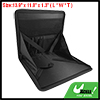 Foldable Car Seat Laptop Tray Table Food Holder Black