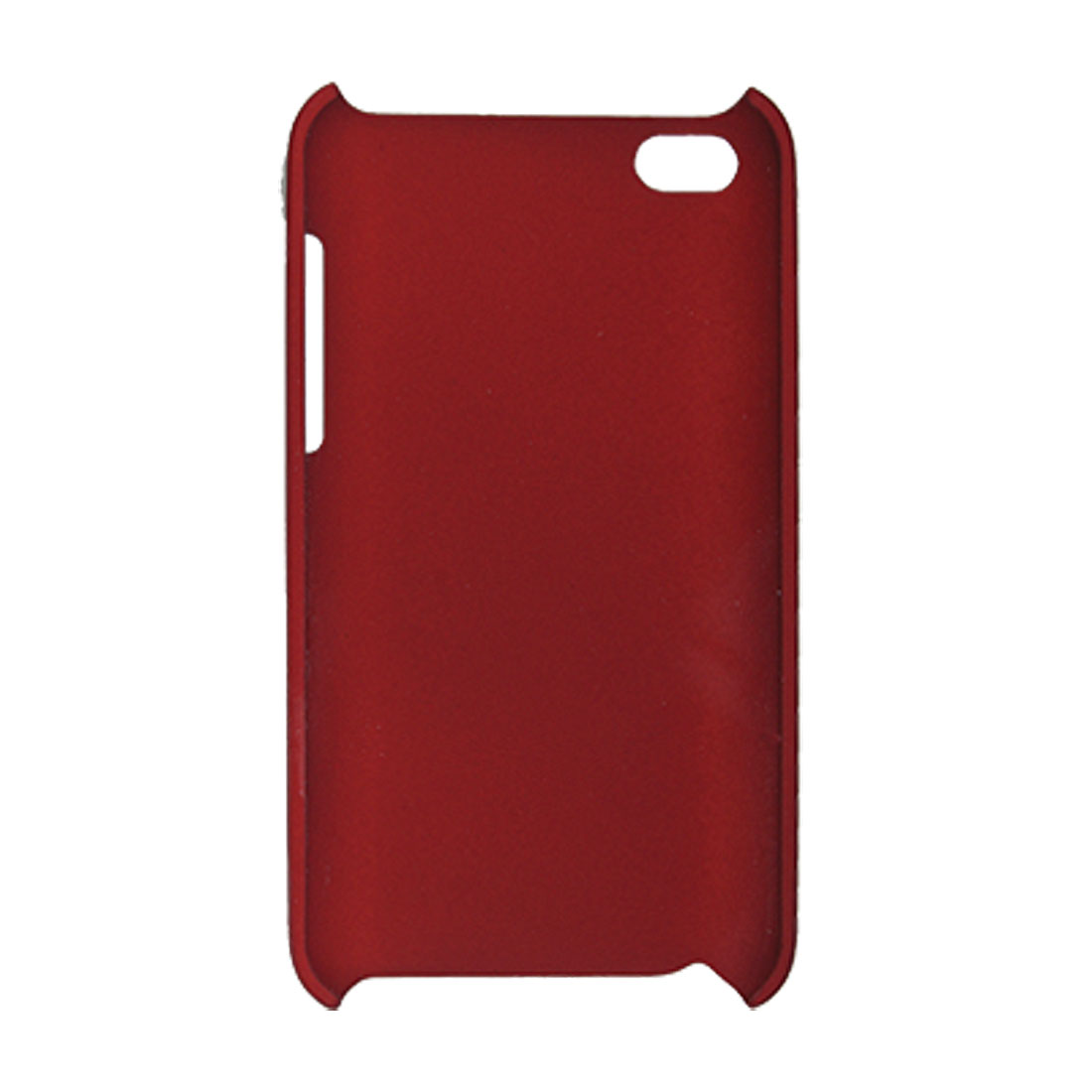 Carmine Hard Plastic Back Cover Guard for iPod Touch 4