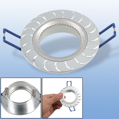 Silver Tone Ceiling Lamp Recessed Downlight Holder Bracket