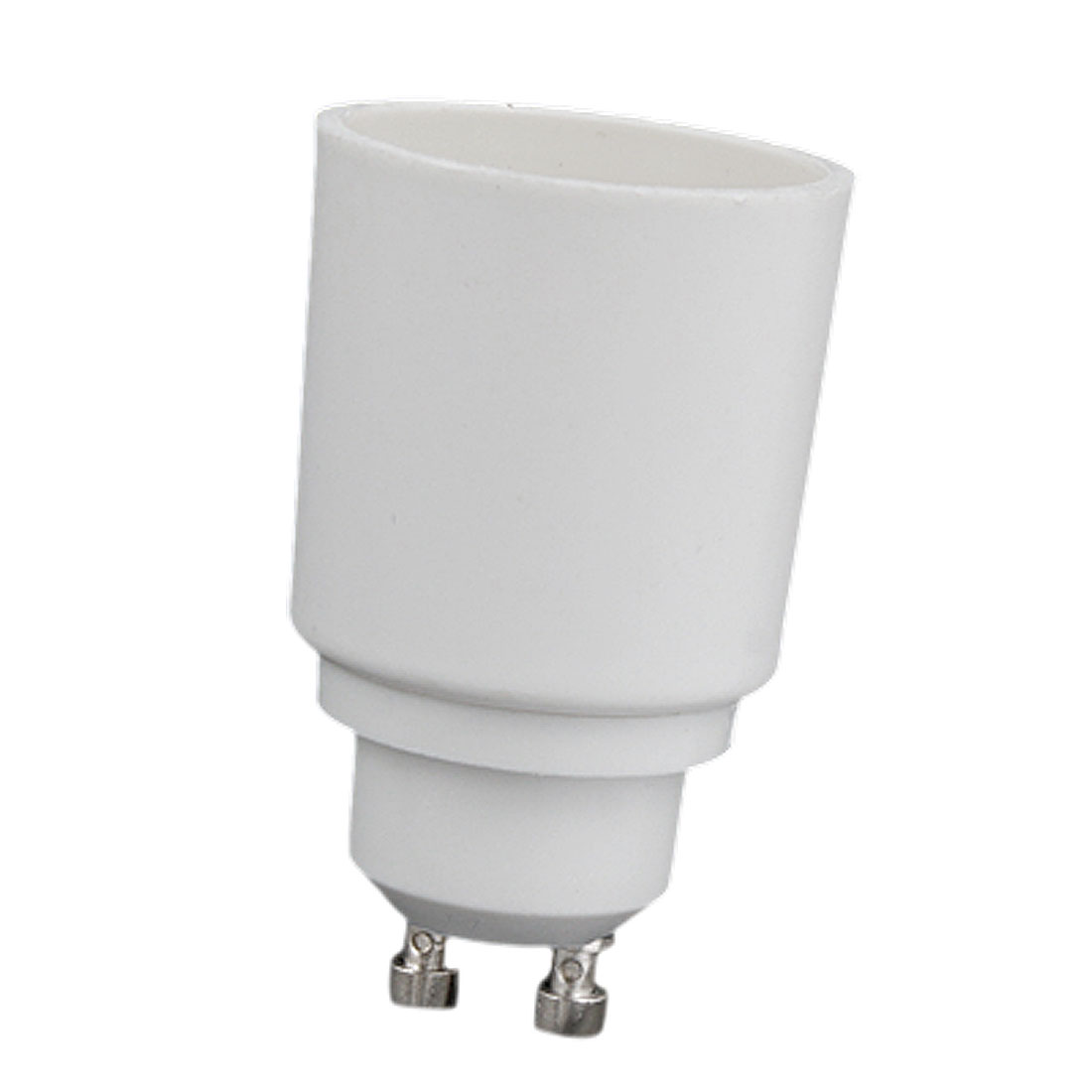 E27 to GU10 White Light Lamp Bulb Socket Adapter