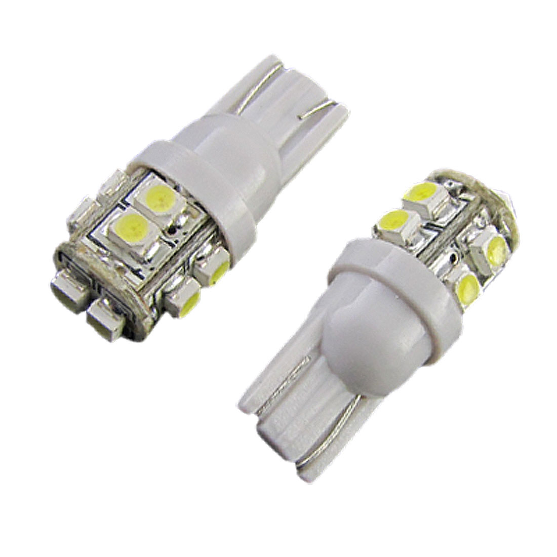 2X Car Corner Backup Brake T10 W5W White 1210 3528 SMD 10 LED Light