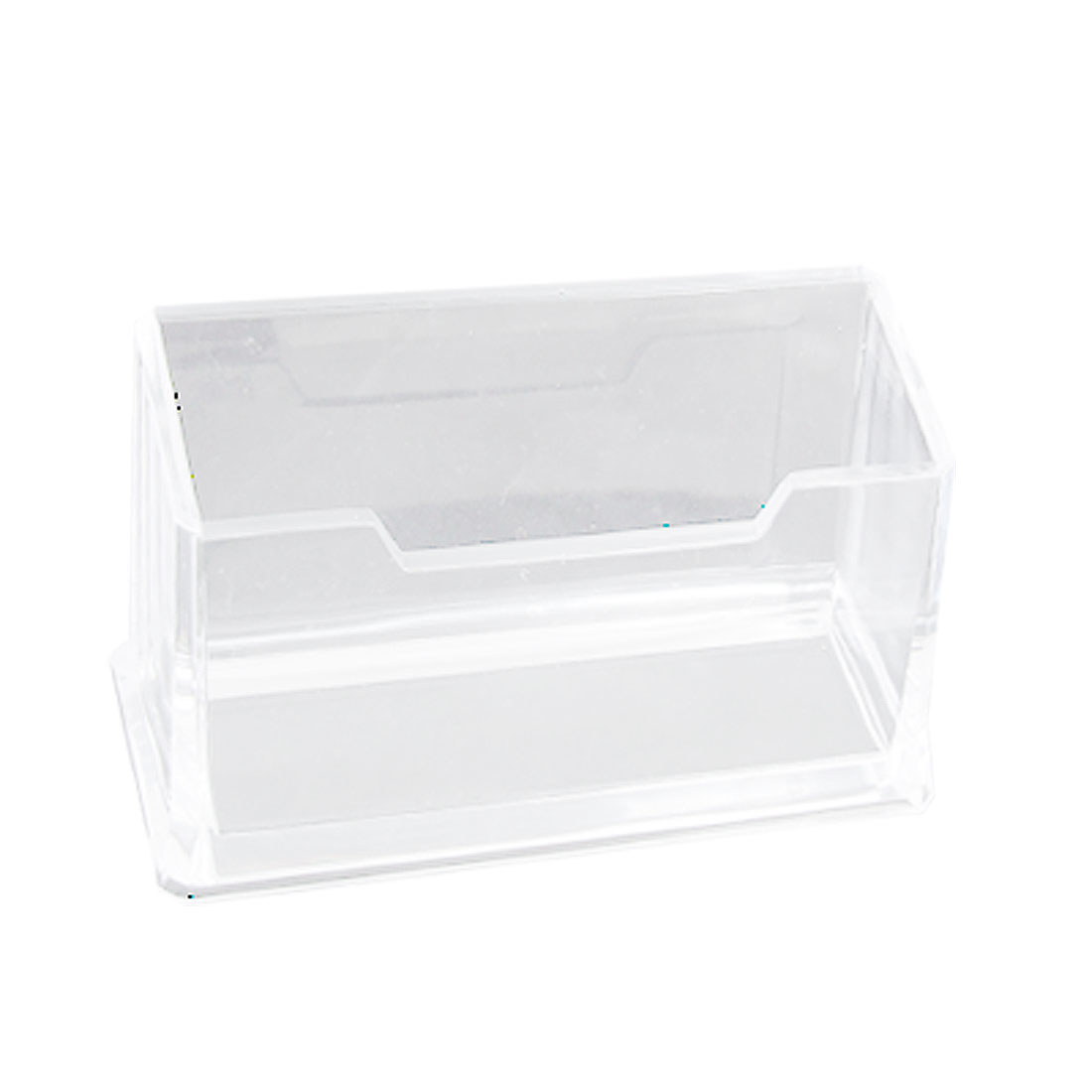 Clear Plastic Business VIP Name Card Display Stand Holder