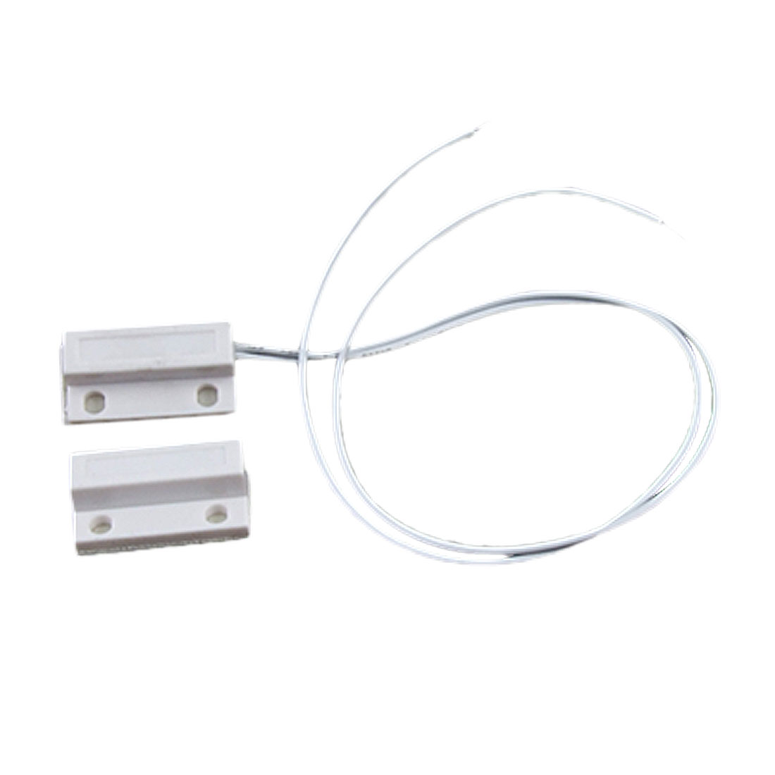 White Door Window Contacts Magnetic Reed Switch Sensor