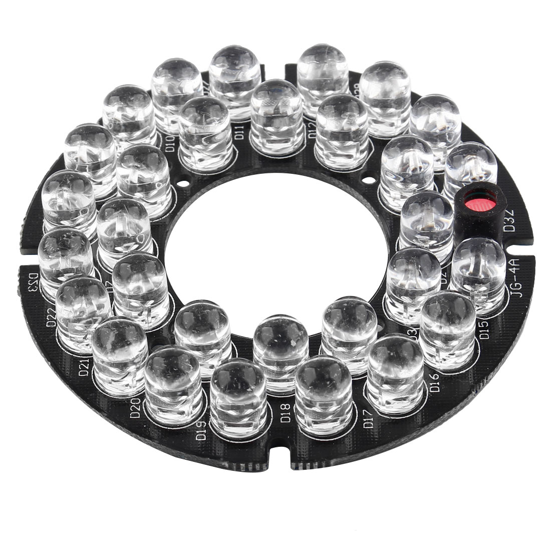 "2 1/8"" Round Board 24 IR LED Lamp for CCTV Security Camera"