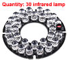 30 RED LEDs Light Infrared Lamp for CCTV Dome Camera