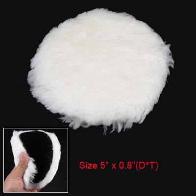 Car Auto Vehicle Wool White Buffering Polishing Ball