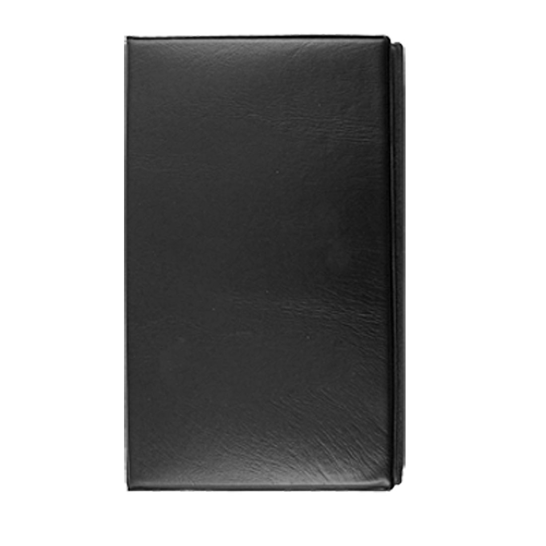 Notebook Style 144PCS Capacity Blk Business Card Holder