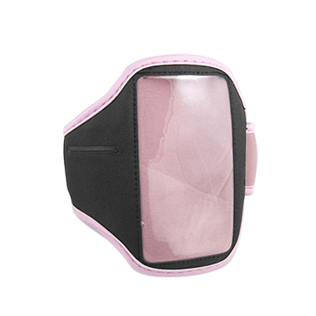 Adjustable Sport Style Armband Black Pink for iPod Touch 4G